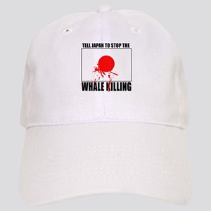 Japan Stop Whale Killing Cap