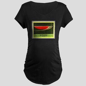 """1937 Hudson Brochure"" Maternity Dark T-Shirt"