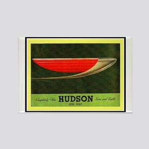 """1937 Hudson Brochure"" Rectangle Magnet"