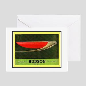 """1937 Hudson Brochure"" Greeting Card"