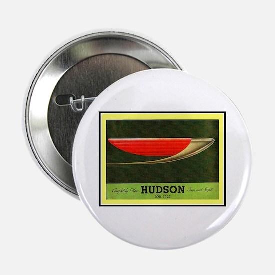 """""""1937 Hudson Brochure"""" 2.25"""" Button"""