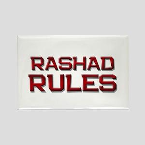 rashad rules Rectangle Magnet