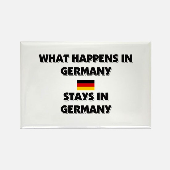 What Happens In GERMANY Stays There Rectangle Magn