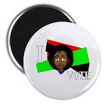 I vote (red, black & green) Magnet
