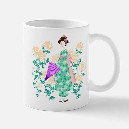 Cute Geisha Mug