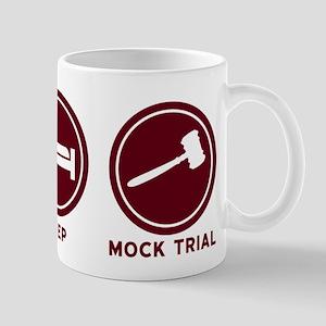 Eat Sleep Mock Trial Mugs