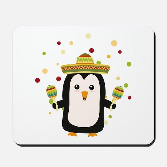 Penguin Mexico Fiesta Cz87f Mousepad