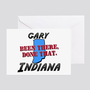 gary indiana - been there, done that Greeting Card