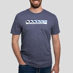 English Cocker Spaniel (blue T-Shirt