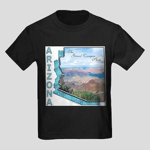 Arizona - Grand Canyon State Ash Grey T-Shirt
