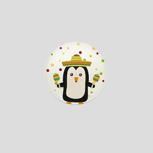 Penguin Mexico Fiesta Cz87f Mini Button