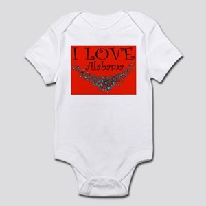 I Love Alabama Hot Affair Infant Creeper