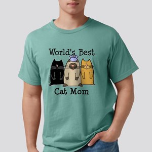 World's Greatest Cat Mom T-Shirt