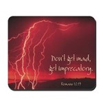 """Mousepad with """"Don't Get Mad..."""""""