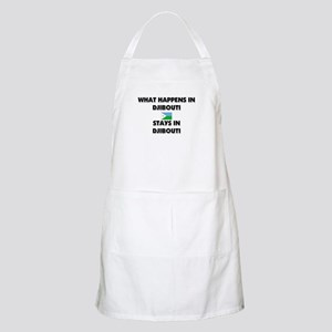 What Happens In DJIBOUTI Stays There BBQ Apron