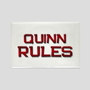 quinn rules Rectangle Magnet