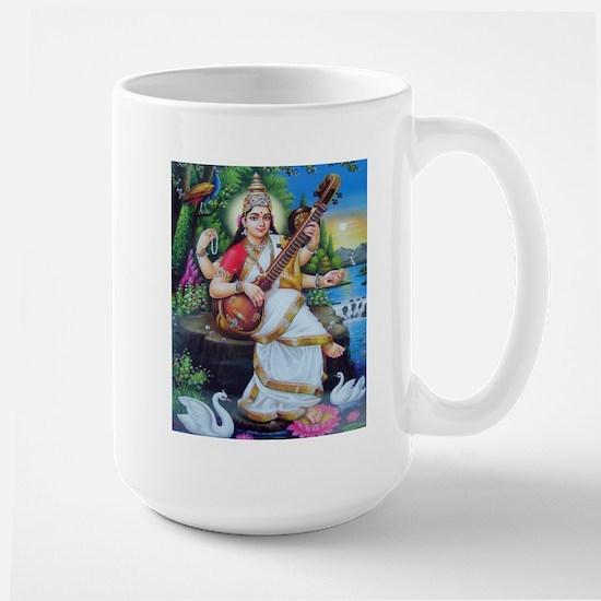 Saraswati ji Large Mug