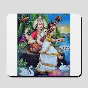 Saraswati ji Mousepad