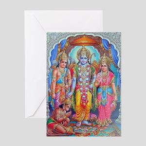 Ram Sita Lakshman ji Greeting Card
