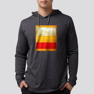 ROTHKO WHITE CLOUD ORANGE YELLOW Long Sleeve T-Shi