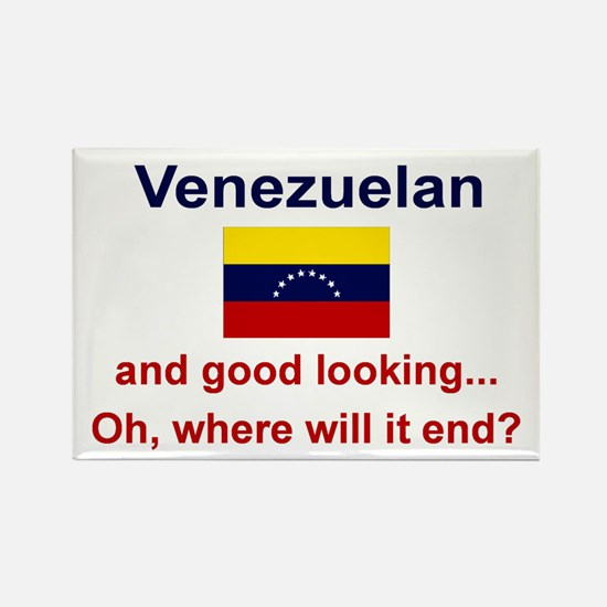Good Looking Venezuelan Rectangle Magnet