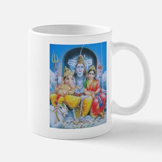 Shiva Parvati Ganesh ji Mug