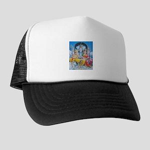 Shiva Parvati Ganesh ji Trucker Hat