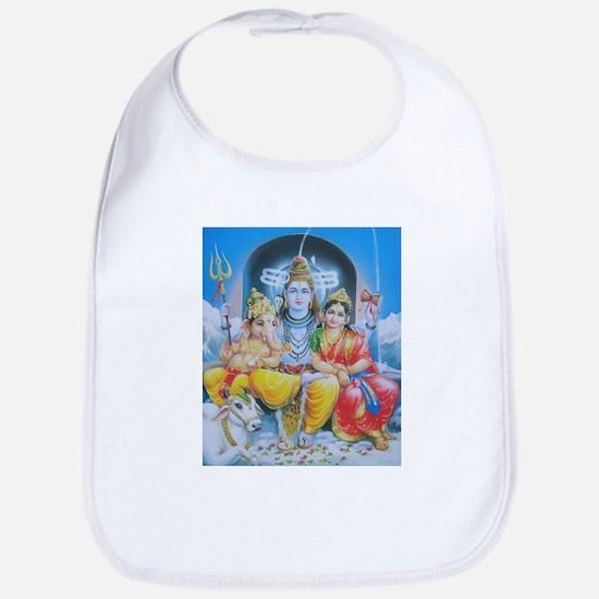 Shiva Parvati Ganesh ji Bib