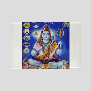 Om Namah Shivaye Rectangle Magnet