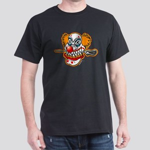 Lacrosse Evil Clown Black T-Shirt