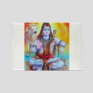 Shiva ji Rectangle Magnet