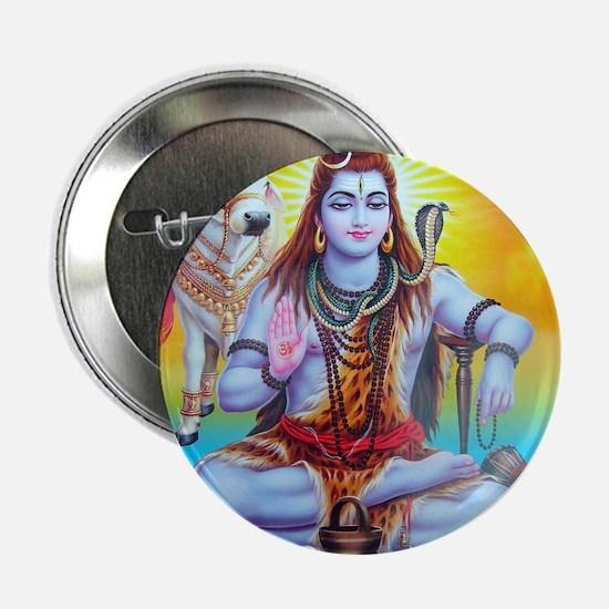 "Shiva ji 2.25"" Button"