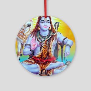 Shiva ji Ornament (Round)