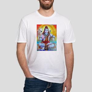 Shiva ji Fitted T-Shirt