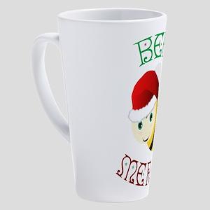 Bee Merry 17 oz Latte Mug