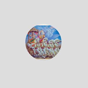 Krishna Arjuna Mini Button