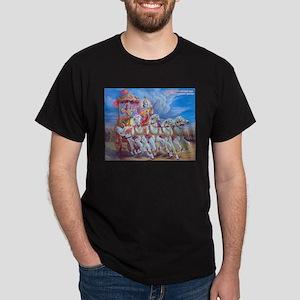 Krishna Arjuna Dark T-Shirt