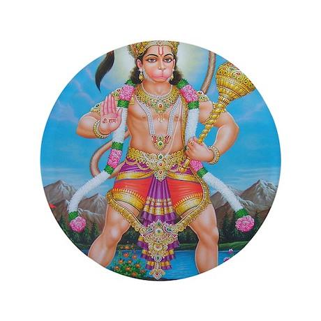 "Jai Hanuman 3.5"" Button"