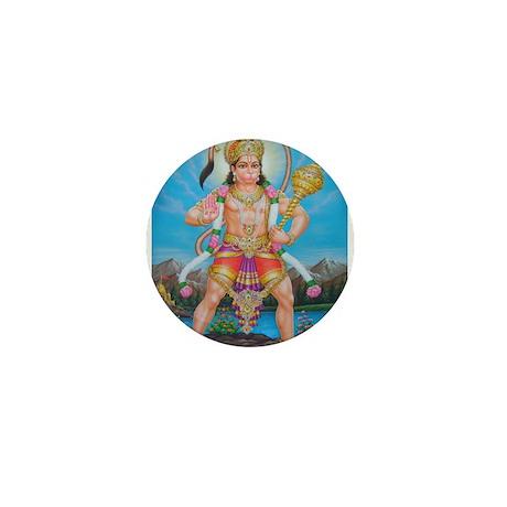 Jai Hanuman Mini Button