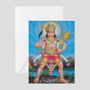 Jai Hanuman Greeting Card
