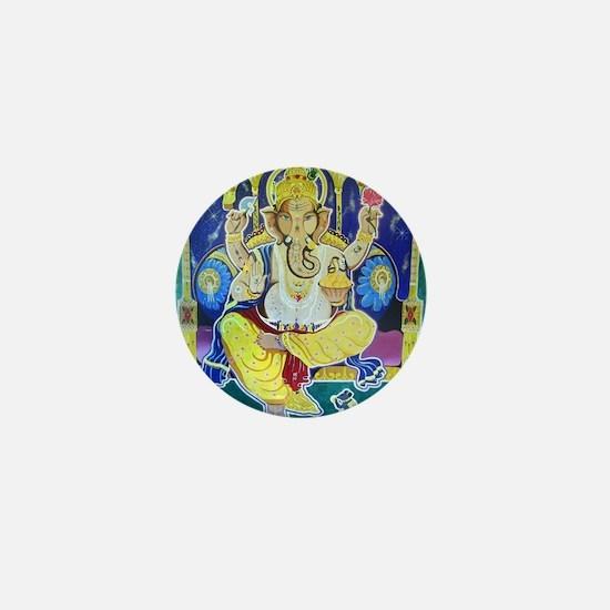 Jai Ganesh Mini Button