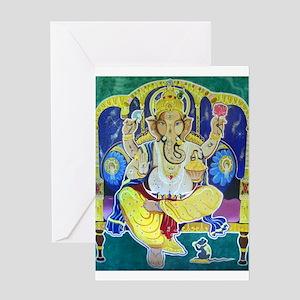Jai Ganesh Greeting Card