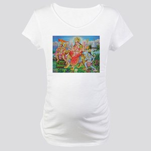 Durga Mata Maternity T-Shirt