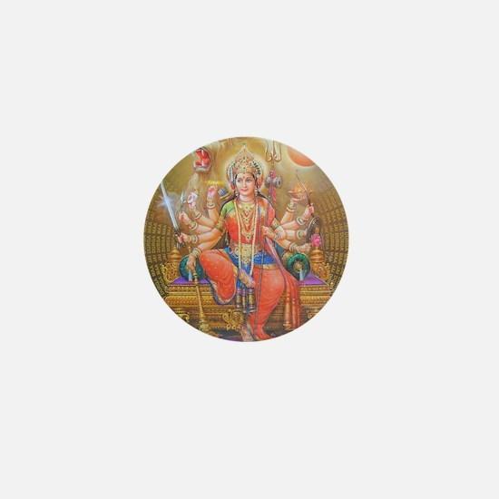 Durga ji Mini Button