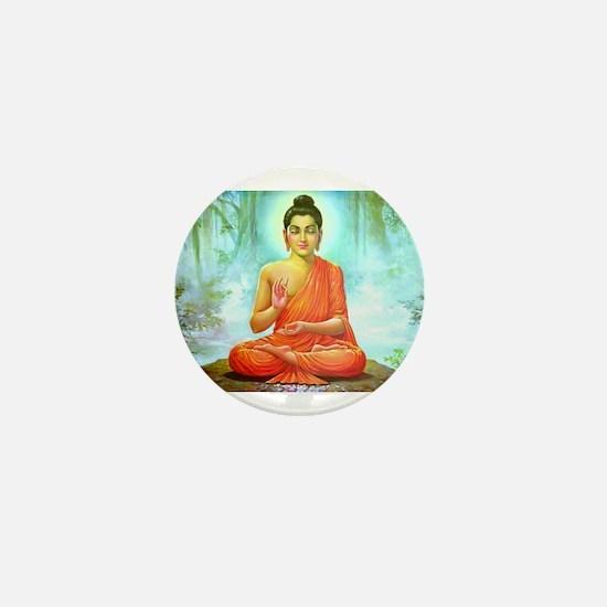 Buddha ji Mini Button