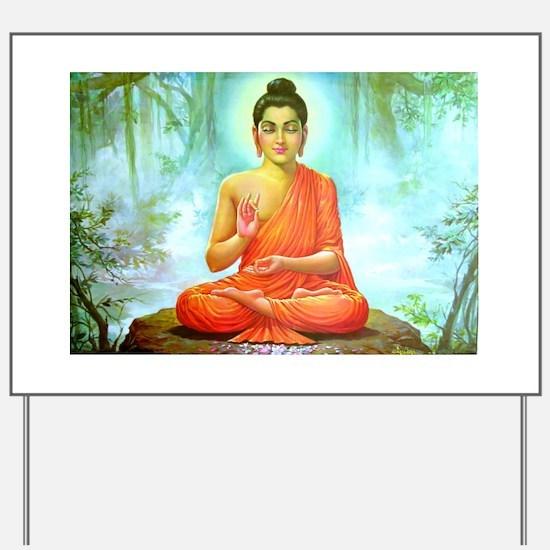 Buddha ji Yard Sign