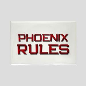 phoenix rules Rectangle Magnet