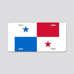 Panama Aluminum License Plate