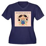 Women's Plus Size T-Shirt-Various Colors