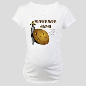 Autism Warrior Mom 2 Maternity T-Shirt